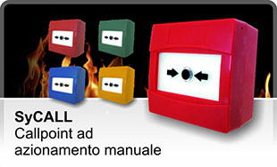 SyCALL - Call point ad azionamento manuale